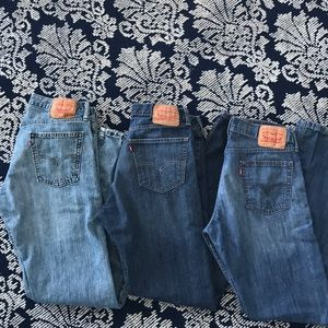 3 Pairs-Levi's Bootcut Jeans 👖